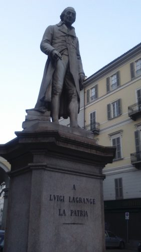 Statue de Lagrange (Piazza Lagrange, Torino)